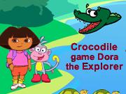Crocodile Game Dora the Explorer