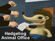 Hedgehog Animal Office