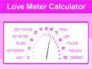 Love Meter Calculator Game