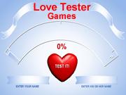 Love Tester Games