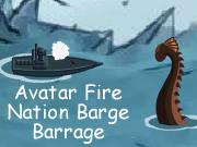 Avatar Fire Nation Barge Barrage