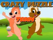 Crazy Puzzle-Teddy