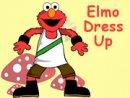 Elmo Dress Up