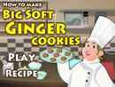 How to Bake Big Soft Ginger Cookies