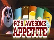 Kung Fu Panda - Po's Awesome Appetitte