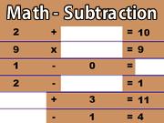 Math - Subtraction