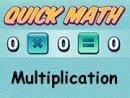 Multiplication Quick Math