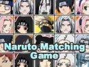 Naruto Matching Game
