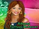 Rihanna Tattoos Makeover