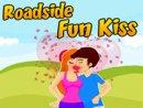 Roadside Fun Kissing