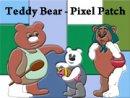 Teddy Bear - Pixel Patch