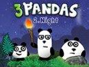 Three Pandas 2 - Night