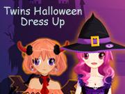 Twins Halloween Dress Up