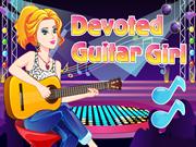 Devoted Guitar Girl