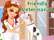 Friendly Veterinarian