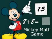 Mickey Math Game