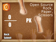 Open Source Rock,Paper,Scissors