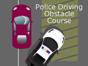 Police Driving Obstacle Course