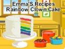 Emma'S Recipes Rainbow Clown Cake