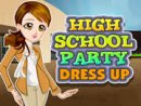 High School Party Dressup Game