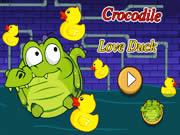 Crocodile Love Duck