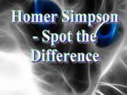 Homer Simpson Spot The Difference