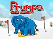Prumpa Goes Skiing