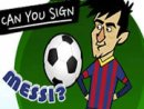 Can You Sign Messi