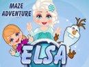 Elsa Maze Adventure