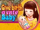 Give Birth A Cute Baby Game