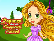 Rapunzel Playground Accident