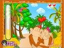 Cute Monkey Kissing