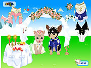 Pet Wedding Dress up