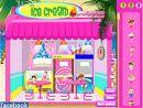 Seaside Ice Cream Shop Decor
