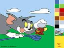 Tom and Jerry Painting