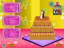 Wedding Cake Decoration Game