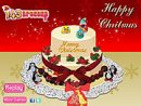 Yummy Christmas Cake Decor