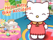 Hello Kitty Bike Accident