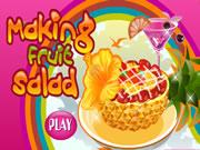 Making Fruit Salad