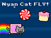 Nayan Cat Fly!