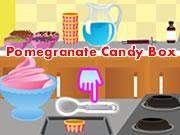 Pomegranate Candy Box