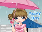 Rainy Day Dressup Game