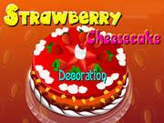 Strawberry CheeseCake Decoration