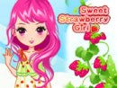 Sweet Strawberry Girl