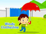 Windy Clothesline