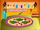 Decor your pizza