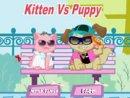 Kitten Vs Puppy