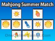 Mahjong Summer Match
