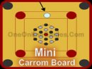 Mini Carrom Board