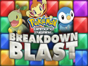 Pokemon Diamond and Pearl Break Down Blast